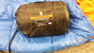 Example DofE sleeping bag liner.