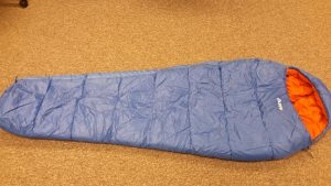 DofE sleeping bag - the vango nitestar is the best of these three bags in our view.